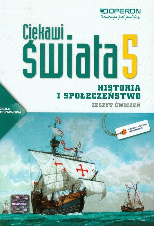 Ciekawi świata Historia i społeczeństwo 5 Zeszyt ćwiczeń Pacholska Maria, Zdziabek Wiesław