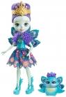 Enchantimals Lalka + Zwierzątko, Ratter Peacock (DVH87/DYC76)