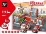 Klocki Blocki: Straż pożarna Remiza 774 elementy (KB8051)