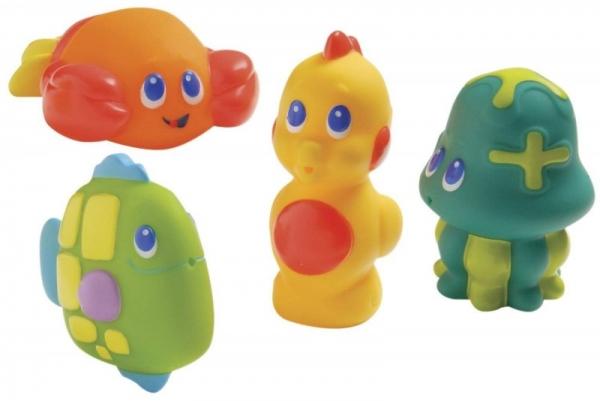 Zabawki do kąpieli morskie zwierzątka (34110002)