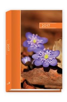 Terminarz 2017 B6 kolor - kwiatki