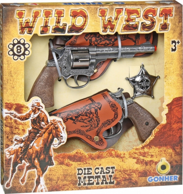 Zestaw kowbojski 2 Gonher (155158/0)