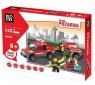Klocki Blocki: Straż pożarna. Samochód z przyczepą 143 elementy (KB8055)