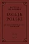 Dzieje Polski Od śmierci Zygmunta Augusta do roku 1594