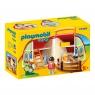 Playmobil 1.2.3: Moja przenośna stajnia (70180) Wiek: 18m+