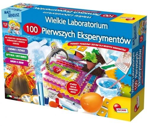 Mały Geniusz Wielkie laboratorium 100 pierwszych eksperymentów (GXP-559399)