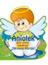 Aniołek uczy dzieci modlitwy Zdrowaś Maryjo praca zbiorowa