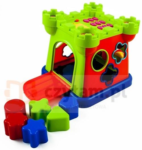 Zamek z klockami dla dzieci