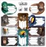 Naklejki na zeszyty Wild (607780)