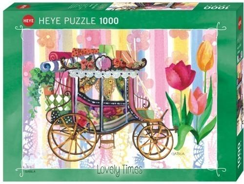 1000 ELEMENTÓW Piękna kareta (29780)
