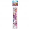 Ołówek z gumką Barbie Spy op.4szt 352891