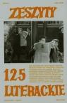 Zeszyty literackie 125/1/2014