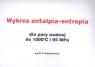 Wykres entalpia-entropia dla pary wodnej do 1000C i 95 MPa wg M.P. Wukałowicza