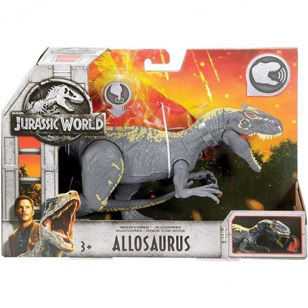 JURASSIC WORLD ROARIVORES Allosaurus (FMM23/FMM30)