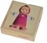Masza Puzzle drewniane przebieranki