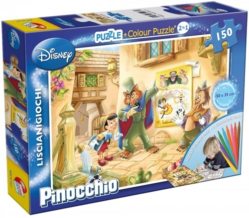 Puzzle dwustronne Pinokio 150