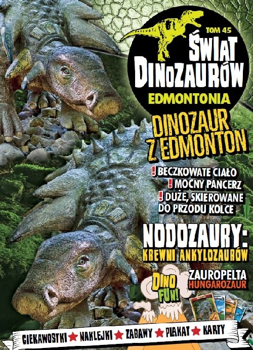 Świat Dinozaurów. Tom 45. Edmontonia praca zbiorowa