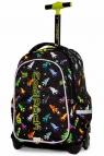 Coolpack - Junior - Plecak młodzieżowy na kółkach - Led Rockets (A28207)