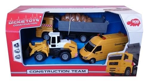 Zestaw pojazdów budowlanych z ładowarką (372-5001)