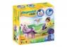 Playmobil 1.2.3: Powóz jednorożca z wróżką (70401)