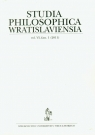 Studia philosophica wratislaviensia 1/2011