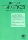 Przegląd Humanistyczny 1/2016