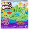 Kinetic Sand: Piasek kinetyczny - Zamek. Zestaw z piaskownicą - Zielony (71402/20106637)