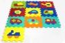 ARTYK 10 EL. Puzzle piankowe Pojazdy (X-ART-1007B-10)