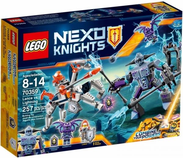 Nexo Knights Lance kontra Błyskawica (70359)