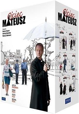 Ojciec Mateusz sezon 1-6 film DVD praca zbiorowa