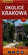 Okolice Krakowa mapa turystyczna 1:55 000