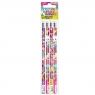 Ołówek z gumką Barbie Video op.4szt.379334