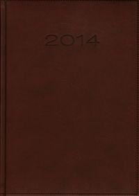 Kalendarz 2014 B5 51D Bordo menadżerski dzienny