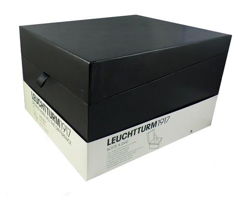 Pudełko na płyty DVD Leuchtturm1917 czarne