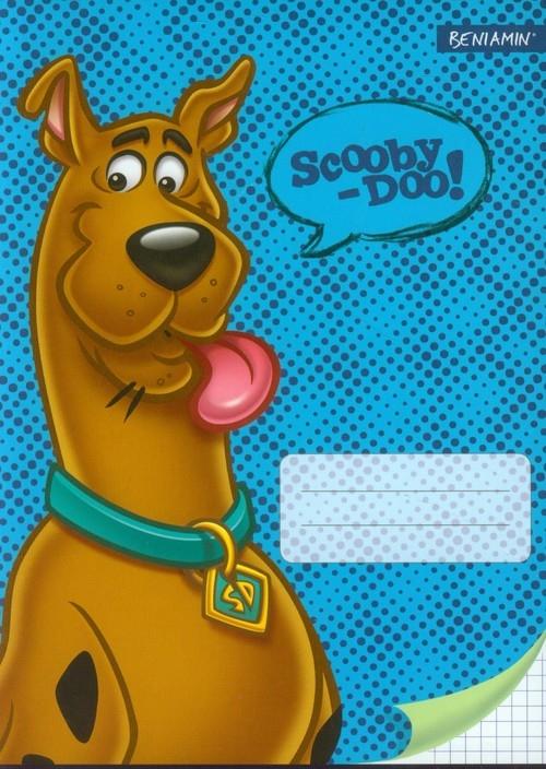 Zeszyt A5 Scooby Doo w kratkę 32 kartki niebieski