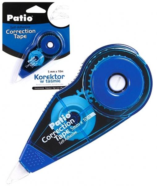 Korektor w taśmie 5mm x 10m niebieski