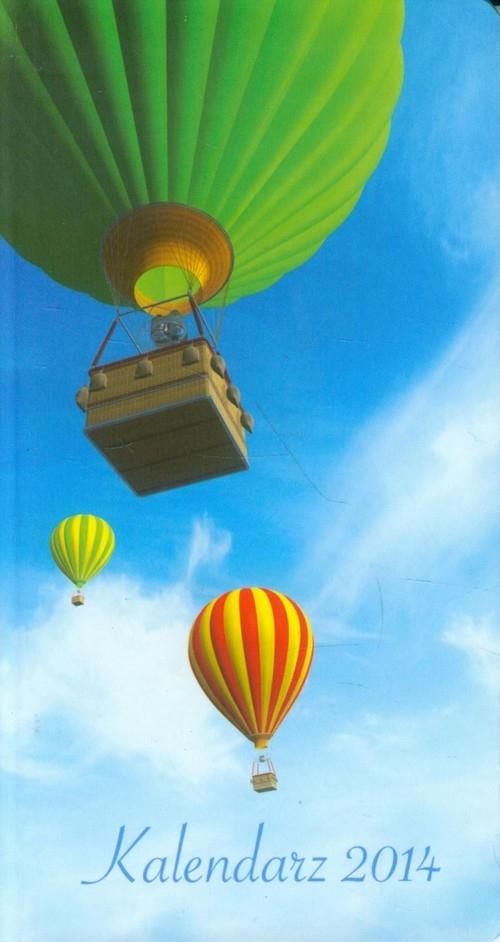 Kalendarz 2014 A6 11T Balony kieszonkowy