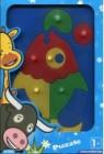Puzzle edukacyjne ryba 1