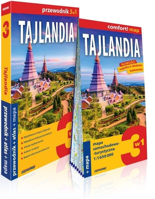 Tajlandia 3w1 przewodnik + atlas + mapa Byrtek Katarzyna