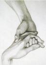 Karnet B6 z kopertą Hand of Dante holding that of love