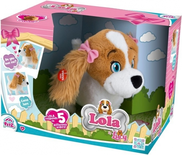 Piesek interaktywny Lola (IMC094802)