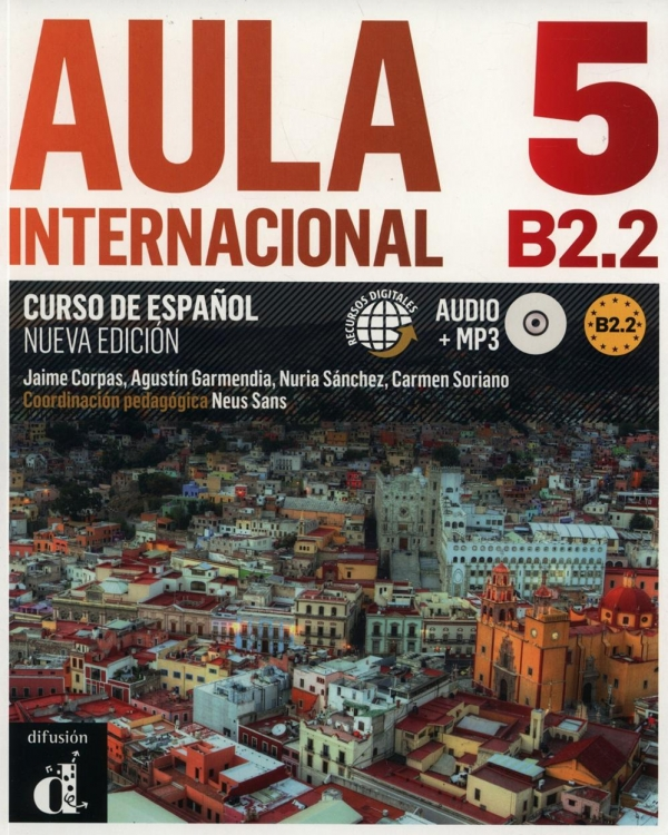 Aula internacional 5. Curso de Espanol + CD Corpas Jaime, Garmendia Agustin, Sanchez Nuria