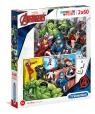Puzzle SuperColor 2x60: The Avengers (21605)