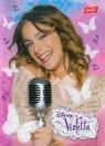 Brulion A5 Disney Violetta w kratkę 96 kartek mikrofon