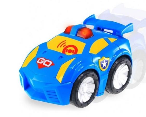 Odjazdowe autko. Policja