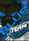 Zeszyt A5 Team Hot Wheels w kratkę 60 niebieski