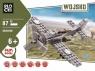 Klocki Blocki Wojsko Samolot 87 elementów (KB82006)