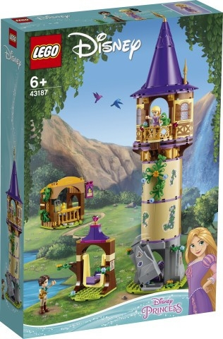 Klocki Disney Princess Wieża Roszpunki 43187 (43187). od 6 lat