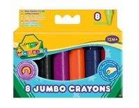 Kredki świecowe Crayola Mini Kids 8 sztuk (0080)