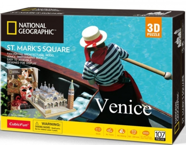 Puzzle 3D National Geographic - Wenecja (306-20980)